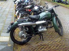1963 MZ ES 250/1 (Davydutchy) Tags: holland netherlands bike july motorbike motorcycle ddr motor es friesland 250 socialism mz motorrad 2014 krad frysln motorfiets oldtimerdag 2501 stnicolaasga stnyk