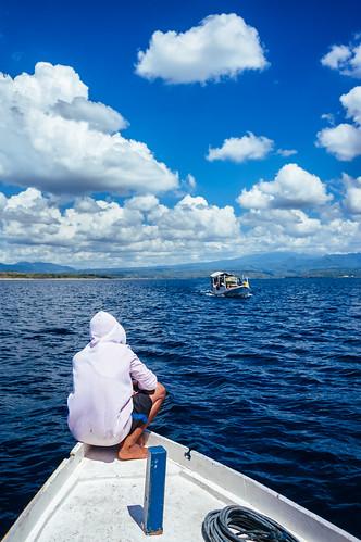 At The Boat from Moyo Island, Sumbawa