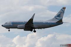 YR-BGG - Boeing B737-78J [827/28442] - TAROM (Leezpics) Tags: romania boeing airports fra frankfurtammain craiova b737 eddf tarom retrojet commercialaircraft yrbgg specialschemes 23may2014