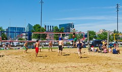 2014-07-04 BBV Hat Draw Tournament (9) (cmfgu) Tags: holiday net beach sports ball court md sand outdoor 4th july maryland baltimore tournament bikini volleyball coed athlete fourth independenceday league 4s innerharbor fours bbv rashfield hatdraw
