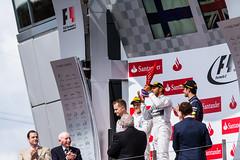 Lewis Hamilton - Podium Ceremony - Formula 1 - Silverstone (George-Smith) Tags: england unitedkingdom f1 podium silverstone trophy formula1 lewishamilton mercedesamgpetronasf1team aylesburyvaledistrict