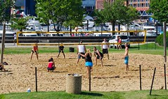 2014-07-04 BBV Hat Draw Tournament (85) (cmfgu) Tags: holiday net beach sports ball court md sand outdoor 4th july maryland baltimore tournament bikini volleyball coed athlete fourth independenceday league 4s innerharbor fours bbv rashfield hatdraw