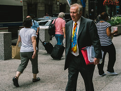If You Have to Wear a Tie... (jeffm211) Tags: chicago candid tie