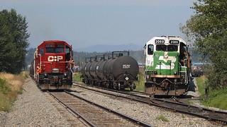 BNSF & CPR ~ Huntington