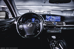 LEXUS LS (Marcel Lech Photography) Tags: usa motion detail photography corporate marcel exterior photoshoot interior side cluster rear front gs ls rolling lexus lech