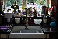Diary: 9th of June 2014 (Paul of Congleton) Tags: home window kitchen june digital sink sony diary domestic washing 2014 myeverydaylife rx100