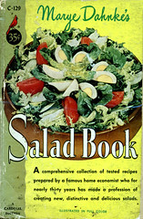 Cardinal C 129 (uk vintage) Tags: photocover cardinaleditions kraftfoodscompany saladbook marijedahnke cardinalpocketbooks