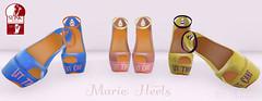 TA MARIE HEELS (The Annex Store) Tags: clothing shoes dress events accessories rp genre roleplay secretaffair slink maireantoinette