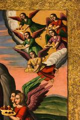 Angels in Vank Cathedral, Isfahan, Iran (inchiki tour) Tags: travel art church angel painting photo iran cathedral interior persia silkroad  isfahan  armenian apostolic    vank jolfa