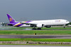 HS-TKV // Thai Airways International // Boeing 777-3D7(ER) (Na Maew Spotter) Tags: thai bkk tg suchitra 77w 7773d7er hstkv