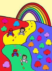 SPWK Rainbow Race Super Go Kart Grand Pee Wee Street Fun Sports Car Motor Cart Pink Blue Chibi Wheel Track Poll Flag Pole Winner Final Heat Win Toy Skateboard Go Kart Bike Race Cart Picture Coloring Paint Android Arcade Video Game Action Figure Roy Doll C (cooleepops) Tags: door blue light sunset red portrait sky sculpture horse music orange dog sun white snow flower bus tree green art classic texture beach nature water field car station yellow rock shop night clouds race port train bag real temple fly dance fishing woods long dj purple cathedral bright hiking spin hill sunny indoor scene pop tulip lp funk record techno wax hip hop rap electronic sales ep kodomo selfie