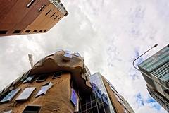 city building architecture skyscraper frank construction university technology crane sydney australia gehry prize frankgehry uts pritzker universityoftechnologysydney pritzkerprize deconstructivism deconstructivist deconstructivistarchitecture