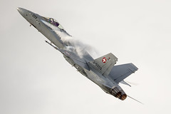 Swiss Air Force F-18 Hornet - Royal International Air Tattoo 2014 - RAF Fairford