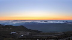 Clear w/ partial undercast (rightthewrong) Tags: new morning summer fog sunrise washington peak august nh hampshire clear mount valley summit vista aug northeast partial 2014 undercast