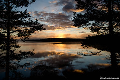 Dawn in Dalsland (jukkarothlauronen) Tags: morning sunset dawn sweden dalsland