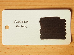 Aurora Black - Word Card