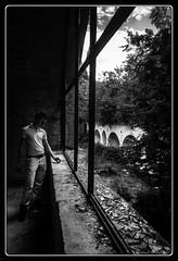 Par la fenetre ... Le monde (Maestr!0_0!) Tags: old urban white black france noir fuji dijon blanc abandonned urbex
