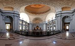 City Hall of San Francisco (lsalcedo) Tags: sanfrancisco california cityhall wideangle fisheye citybythebay ptgui canon815mm
