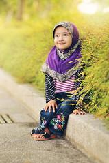 Ai Farisya II @ Eid Mubarak 2014 (Firdausi Nuzula) Tags: kids portraits children photoshoot outdoor eid malaysia raya hari ramadhan salam ai aidilfitri selamat syawal daugther eidulfitri kelantan mubarak 2014 anugerah bachok farisya seindah firdausi nuzula