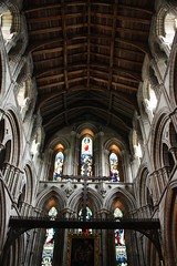 Hexham Abbey (richardr) Tags: old uk greatbritain england building english heritage history church abbey architecture europe european unitedkingdom britain interior gothic north medieval historic northumberland northumbria british northeast europeanunion gothicarchitecture hexham northengland northernengland hexhamabbey medievalarchitecture