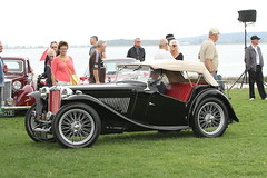 3rd Henry Pang 1949 MG TC (Dennis J. Nelson) Tags: beach crescent concours 2014