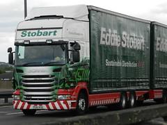 PE61KOU M341 Eddie Stobart Scania Drawbar 'Libby Rose' (graham19492000) Tags: eddie scania stobart drawbar eddiestobart libbyrose m341 pe61kou