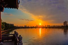 Clearing Skies (asorrell80) Tags: china camera nature clouds sunrise lens photography nikon place cloudy bluesky   shenyang f28 liaoning d600 2470  hunriver