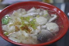 Noodle soup with fish and fish meat balls (Mikhail Zhidko) Tags: nikon nikkor d5100
