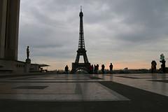 Frhaufsteher (Vanilla55555) Tags: morning light paris tower de licht tour place eiffel eiffelturm trocadero morgen