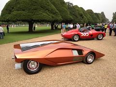 1970 Lancia Stratos Zero Bertone Concept (mangopulp2008) Tags: uk court 1970 concept hampton sept zero concourse lancia elegance stratos 2014 bertone