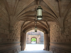 Vaulted entryway, East Pyne Hall, Princeton University, New Jersey (Paul McClure DC) Tags: architecture newjersey historic princeton mercercounty princetonuniversity aug2014