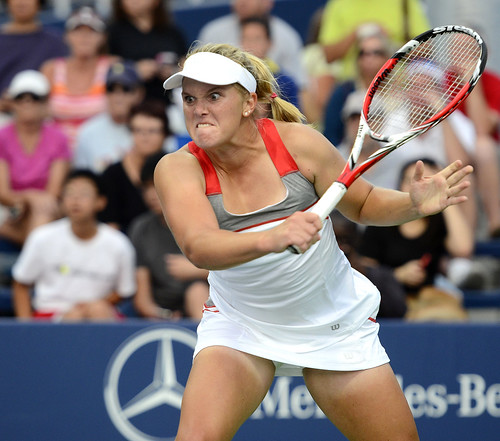Melanie Oudin - 2014 US Open (Tennis) - Qualifying Rounds - Melanie Oudin
