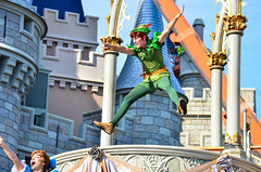 Dream Along - Peter Pan (EverythingDisney) Tags: peterpan disney disneyworld wdw waltdisneyworld magickingdom dawm dreamalongwithmickey