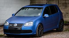 IMG_5165 (Sean at Monsterwraps Ltd) Tags: uk cars vw golf wrapping wrapped wrap automotive southampton motorsport r32 monsterwraps