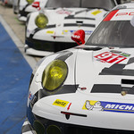Trio of Porshce 911 RSR at COTA_001
