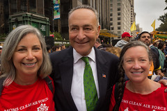 Ronnie Citron-Fink, Chuck Schumer, Dominique Browning
