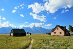 Along Mormon Row (Patricia Henschen) Tags: mountains wyoming tetons grandtetonnationalpark mormonrow