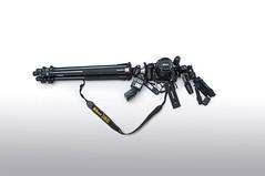 My Shooting Gun (Bhaskar Dutta) Tags: canon nikon gun shoot tripod rifle sb600 creative gear ii shooting remote conceptual trigger manfrotto d800 slik dutta bhaskar 20300 d5000 aputure 055xprob trigmaster