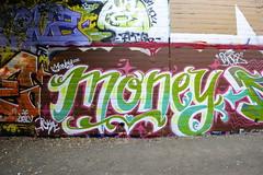 MONEY (STILSAYN) Tags: california money graffiti oakland bay east area 2014