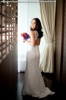 Thailand Makeup Artist & Hairstylist for Wedding Day and Pre-Wedding Shoot
