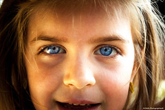 Hypnotic (Mickael PETIT) Tags: portait oeil yeux bleu enfant mickael visage petit regard