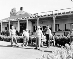 Men playing golf, 1952 (Seattle Municipal Archives) Tags: seattle golf 1950s golfing golfers seattlemunicipalarchives