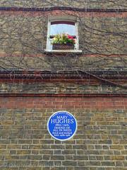 Mary Hughes (paulwaynewmoore : pure randomness) Tags: london june 5 whitechapel e1 2105 iphone iphoneography