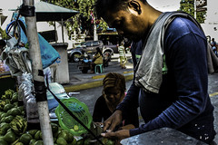 Fruits of Life (YodhOng) Tags: mangoes fruitstand vendor philippines angeles city