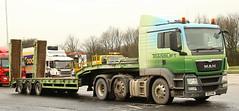 Man tgx 6x2 Translift Plantransporter NX13KMK Frank Hilton .IMG_4776 (Frank Hilton.) Tags: classic truck lorry eight wheel maudsley aec atkinson albion leyalnd bristol austin outside heavy haulage crane 8 axle