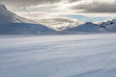 Winter day in Castelluccio (Paolo Boschetti) Tags: sibillini castelluccio winter ice snow landscapes mountain canon park italy sunrise