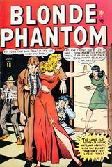 Blonde Phantom #18 (1948), cover by Ken Bald (Tom Simpson) Tags: blondephantom 1948 cover kenbald 1940s comics boobs woman headlights goodgirl comicbook vintage art crime