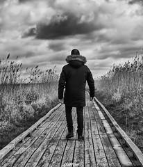 Me, myself and I (CREE PING) Tags: me myself selfie nature ngc nantes naoned noir nuages newlife noiretblanc bretagne breizh bzh blanc canon canon7d creeping ciel city chemin lavausurloire landscape loireatlantique loire 1740mml france french dos back podt:country=fr paysage tourisme 44