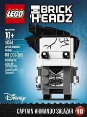 LEGO BrickHeadz 41594 Captain Armando Salazar box (hello_bricks) Tags: toyfair toy toys lego brickheadz jacksparrow salazar pirates pirate piratesdescaraibes piratesofthecarribean potc