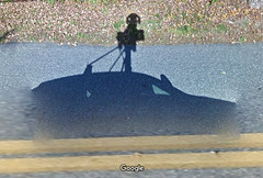Google Shadow (flickr flame) Tags: google googleearth camera car technology elusive shadow road view